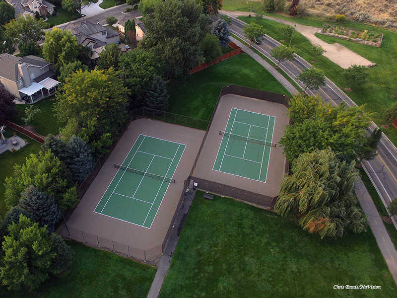 Surprise Valley HOA Tennis courts